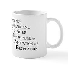 H.A.C.K.E.R. Small Mugs
