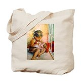 Hush A Bye Canvas Tote Bag