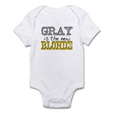 Gray is the new Blonde Infant Bodysuit