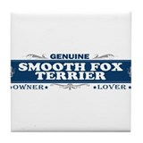 SMOOTH FOX TERRIER Tile Coaster