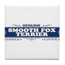 SMOOTH FOX TERRIER Tile Coaster