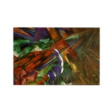 Cute Franz marc Rectangle Magnet (10 pack)