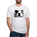 SAD DOG Fitted T-Shirt