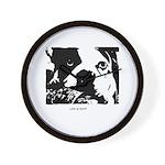 SAD DOG Wall Clock