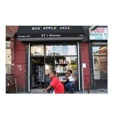 Big Apple Jazz Storefront Postcards (Package of 8)