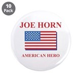 "Joe Horn American Hero 3.5"" Button (10 pack)"