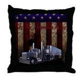 It's The American Way Throw Pillow