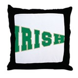 Irish (Pennant Shaped) Throw Pillow