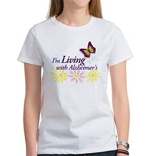 LIVING with Alzheimers Tee