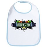Upper West Side (White) Bib