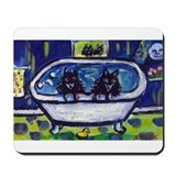 SCHIPPERKES in bath Mousepad