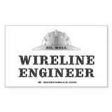 Wireline Engineer Rectangle Decal