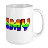 Jeremy Gay Pride (#004) Ceramic Mugs
