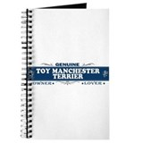 TOY MANCHESTER TERRIER Journal
