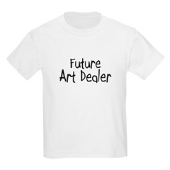 Future Art Dealer Kids Light T-Shirt