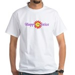 Happy Solstice White T-Shirt