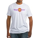 Happy Solstice Fitted T-Shirt