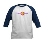Happy Solstice Kids Baseball Jersey