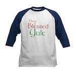 Blessed Yule Kids Baseball Jersey