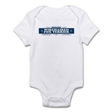 WIREHAIRED FOX TERRIER Infant Bodysuit