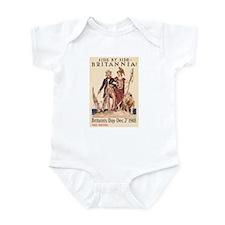 Side By Side Britannia Infant Bodysuit