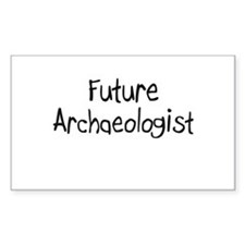 Future Archaeologist Rectangle Decal