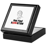 Ron Paul Revolution [Love] Keepsake Box