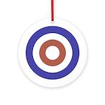 Mod Rocker Ornament (Round)
