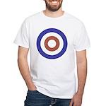 Mod Rocker White T-Shirt