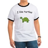 Cute I like turtles T