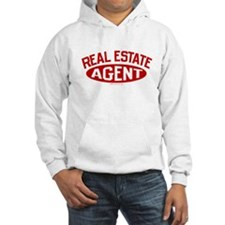 REAL ESTATE AGENT (Red) Hoodie
