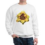 Peach Double Daylily Sweatshirt