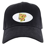 Pink w/ Ruffles Daylily Black Cap