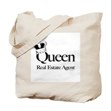 QUEEN Tote Bag (printed both sides) for a Realtor