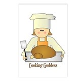 Cooking Goddess Postcards (Package of 8)