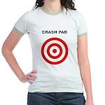 The Human Crash Pad - Jr. Ringer T-Shirt