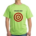 Human Crash Pad - Funny Bouldering Green T-Shirt