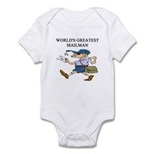 mailman gifts t-shirts Infant Bodysuit
