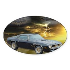 Trans Am Art 3 Oval Sticker