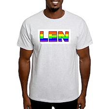 Len Gay Pride (#004) T-Shirt