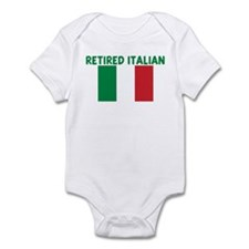 RETIRED ITALIAN Infant Bodysuit