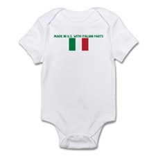 MADE IN US WITH ITALIAN PARTS Infant Bodysuit