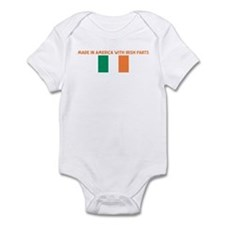 MADE IN AMERICA WITH IRISH PA Infant Bodysuit