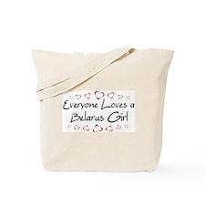 Belarus Girl Tote Bag