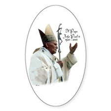Il Papa - Pope John Paul II Oval Decal