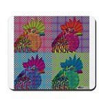 Roosters Gone Psycho Mousepad