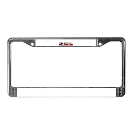 My Wife is Imported (Canada) License Plate Frame