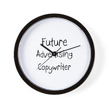 Future Advertising Copywriter Wall Clock