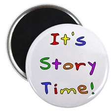 """It's Story Time! 2 2.25"""" Magnet (10 pack)"""