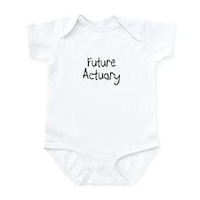Future Actuary Infant Bodysuit